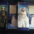 "Princess Diana & Prince Charles Wedding Doll Set - 12"" by Goldberger Doll Manufacturing Corp!"