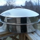 "BARENTHAL L'art et la Table 18"" High Dome Stainless Steel Roaster/Roasting Pan - HUGE!"