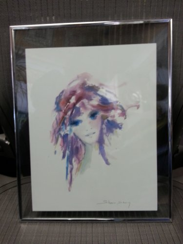 """Park West """"AMETHYSTA"""" Seriolithograph by Shan Merry in Minimalist Frame!"""