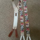 TRAFALGAR LIMITED EDITION CONCOURS D'ELEGANCE PATTERN SUSPENDERS/BRACES - NEW WITHOUT BOX!
