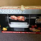 FARBERWARE R4550 Smokeless Indoor Grill Open Hearth Rotisserie with Box!