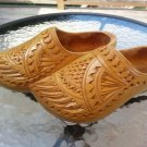 Dutch Hand Carved Wedding Wooden Shoes/Clogs - VINTAGE from trip to Holland in the 1970's!