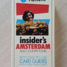 PAN AM's Insider's Guide to Amsterdam & Country Tours: 50 Easy to Use Card Guides w/ Their Own Maps!