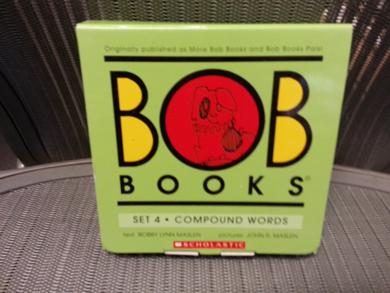 Bob Books Set 4 - Complex Words Paperback � Box set by Bobby Lynn Maslen, John R. Maslen!