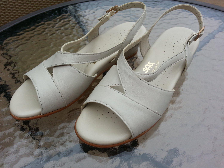SAS Tripad Comfort USA Bone Leather Comfort Sandals 9W - MADE IN USA!
