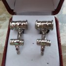 Sterling Gavel Cufflinks with Tuxedo Studs by Cufflinks!