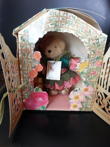 North American Bear Muffy Vanderbear A Rose Is A Rose Second Club Collector's Edition!