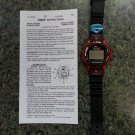 Timex Ironman Triathlon Indiglo Model 721 Watch-DAY/DATE,CHRONOGRAPH,TIMER,ALARM,MEMO & MORE!