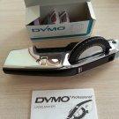 Vintage DYMO 155 Chrome Professional LABELMAKER w/ EXTRA WHEELS TAPE & MANUAL!