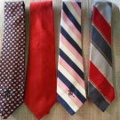 COUNTESS MARA NECK TIES - LOT OF 4 - AUTHENTIC - BOB HOPE'S FAVORITE NECK TIES!