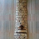"MUSEUM ARTIFACTS ""EGYPTIAN HIEROGLYPHIC ALPHABET NECK TIE - AUTHENTIC!"