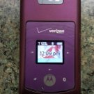 MOTOROLA W755 Clamshell CDMA Phone with BATTERY & AC ADAPTER!