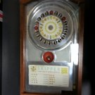 "Bally ""SKIPPER"" Roulette TypeTrade Stimulator- 1 Cent- With Key & Tilt-RARE PINBALL TYPE GAME- 1933!"