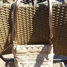 COACH Signature Crossbody Triple Zip Jacquard with Goldtone Hardware - LIKE NEW!