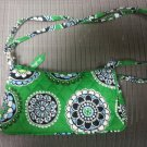 Vera Bradley Amy style Cupcake Green small Crossbody/Shoulder Purse - RETIRED!