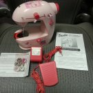 Barbie Lightweight Portable Sewing Machine by Jamac!