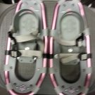 LL Bean Kid's Winter Walker Snowshoes - 16 - PINK!