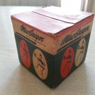 VINTAGE MACGREGOR 100 D C OFFICIAL LEAGUE SOFTBALL WITH ORIGINAL BOX 1960's ERA UNOPENED!