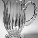 Mikasa Park Lane Crystal Pitcher - 36 ounce - Indent cut design reflects light wonderfully!
