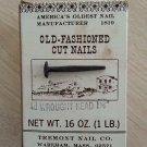 Old-Fashioned Cut 4d Wrought Iron Head Nails 1.5 inch 1 LB.!