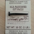 Old-Fashioned Cut 6d Wrought Iron Head Nails 2 inch 1 LB. 4 OZ.!