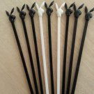 Playboy Club Bunny Top Stirrers Swizzle Sticks from The Playboy Club in NYC circa 1970-Lot of 9!
