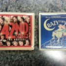 "Broadway Theatre Souvenir Tile Magnets ""42nd Street"" and ""Crazy For You""!"