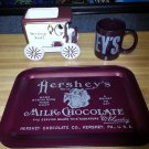 Lot of Hershey's Collectibles - Hershey's Since 1894 Mug, Hershey's Tray & Kisses Carriage Planter!