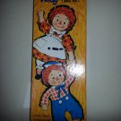 RAGGEDY ANN & ANDY MAGIC PAPER DOLLS by WHITMAN 1968 NIB!