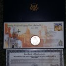 Honoring the Life and Legacy of POPE JOHN PAUL II Limited Edition Collectible from Morgan Mint!