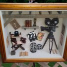 Movie Film Directors Vintage Theme Shadow Box Wall Decor/Wall Hanging!