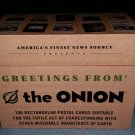 Greetings from the Onion: 100 Rectangular Postal Cards Card Book!