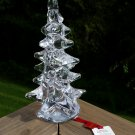 Vannes le Chatel French Crystal Christmas Tree with Original Tag!