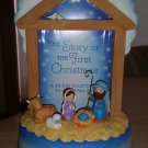 Hallmark Keepsake The Story of the First Christmas - A 25-Day Countdown to Christmas!