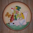 The Disney Collection Disney's Magic Memories Collections Alice in Wonderland 3D Relief Plate!