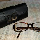 Dolce & Gabbana DG3013B 5O2 TORTOISE 100% AUTHENTIC eyeglass frames with case - MADE IN ITALY!