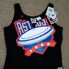 HOUSTON ASTROS COOPERSTOWN COLLECTION GENUINE MERCHANDISE Ladies Tank Top w/ Side Lacing!
