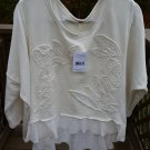 Free People - Terry Rainforest Pullover (Ivory) Women's Long Sleeve Pullover!