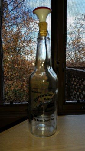 Vermont Country Store Laundry Sprinkler Bottle with Cork Sprinkler!