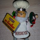 Vintage Hershey's Chocolate World Mr. Goodbar Christmas Ornament - VERY DETAILED!
