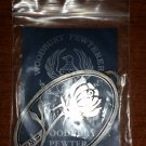 """Woodbury Pewterers Christmas Ornament - """"A Rose""""!"""