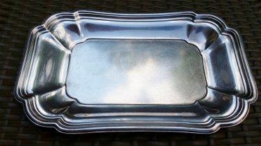 Vintage Chadwick International Silver Company Silverplate 1513 Under Plate Tray!