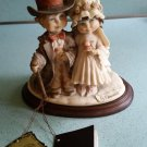 "Capodimonte ""Child's Play"" Bride and Groom Figurine - Florence Italy - Giuseppe Armani -1982!"
