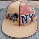 NY Black Yankees Authentic Cross Over NEGRO LEAGUES BASEBALL MUSEUM Wool Cap - Browns - Size 7 1/8!