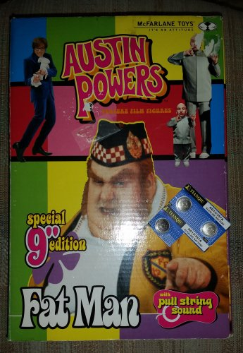 Austin Powers Special Edition Fat Man 9 Inch Figure