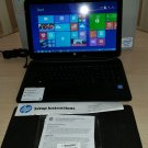 HP Touchsmart 15-f010wm 15.6-inch Celeron N2830 4GB 500GB DVDRW Windows 8.1 by HP with BOX!