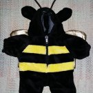 Beanie Babies Clothes - Bumble Bee Costume - Zip front - ADORABLE!