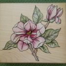Magnolia Wood Mounted Rubber Stamp #A1672G by Rubber Stampede - MADE IN USA - NEW!