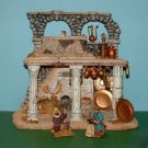 """Department 56 Little Town of Bethlehem - The Holy Land - """"Spice & Copper Vendor's Colonnade"""" #59913!"""
