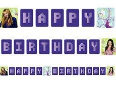 Hannah Montana Banner Birthday Party supplies 8+ Feet